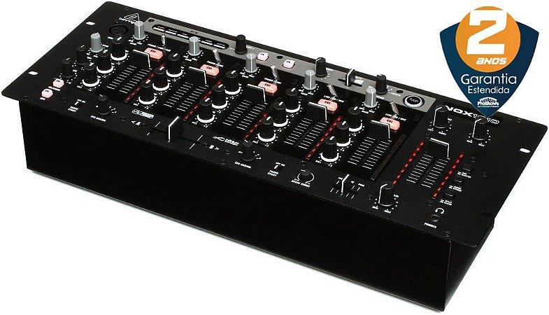 Mixer DJ Behringer Pro Mixer NOX1010 5 Canais USB Bivolt