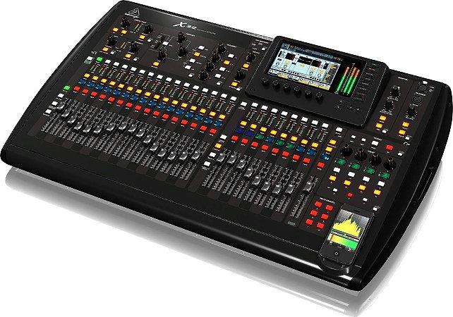 Mesa de Som Digital Behringer X32 Full USB 32 Canais