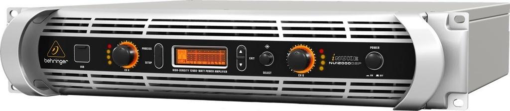 Amplificador de Potência Behringer Inuke NU12000DSP 6000W