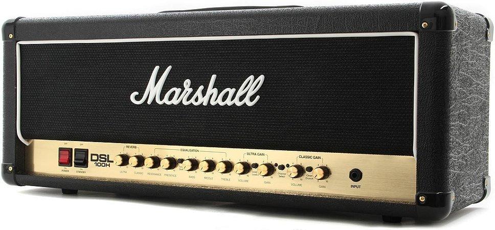 Cabeçote Marshall DSL100H 100W para Guitarra
