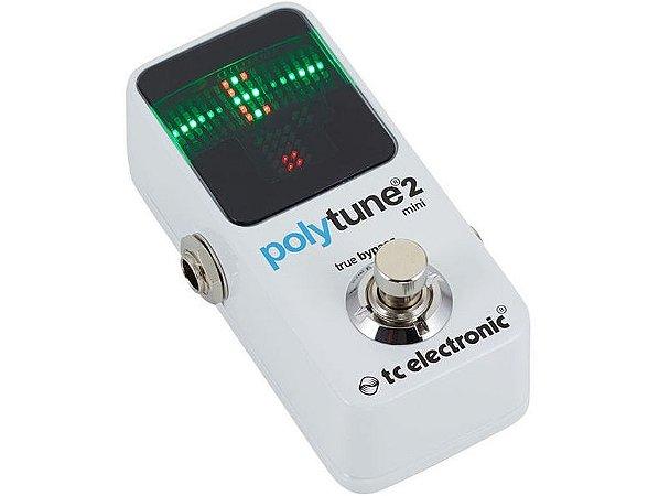 Pedal Afinador TC Electronic Polytune 2 Mini