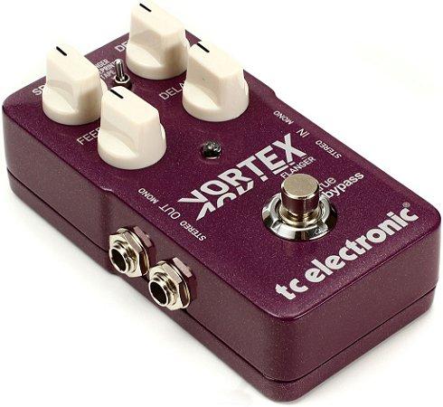 Pedal de Efeitos TC Electronic Vortex Flanger para Guitarra
