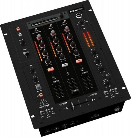 Mixer DJ Behringer Pro Mixer NOX303 3 Canais