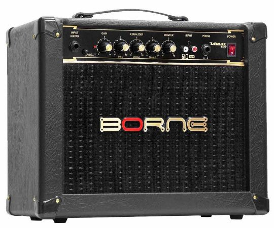 Caixa Amplificada Borne Vorax 630 1x6,5'' 25w RMS