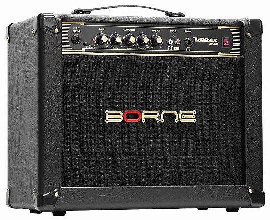 Caixa Amplificada Borne para Guitarra Vorax 840 1x8'' 40w RMS