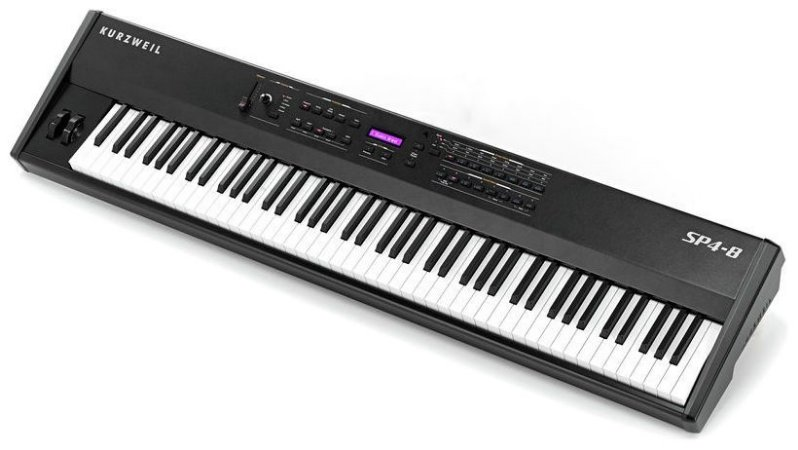 Piano Digital Kurzweil Sp4-8