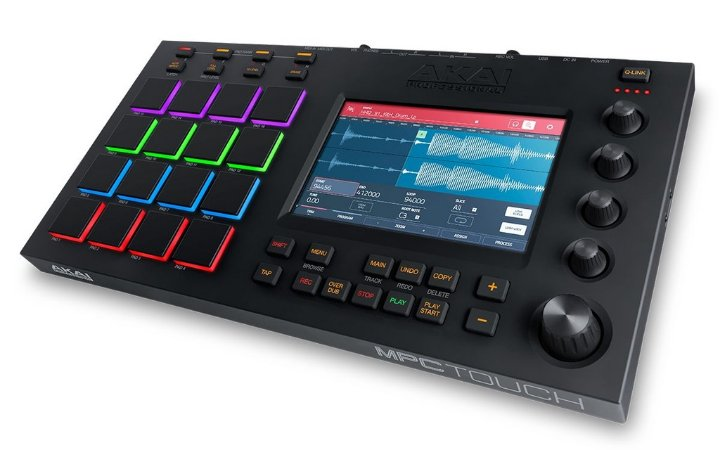 Controlador Akai Professional MPC Touch