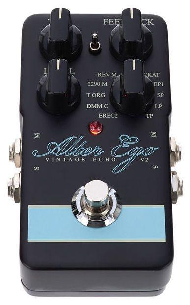 Pedal de Efeitos TC Electronic Alter Ego V2 Delay para Guitarra