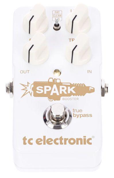 Pedal de Efeitos TC Electronic Spark Booster para Guitarra