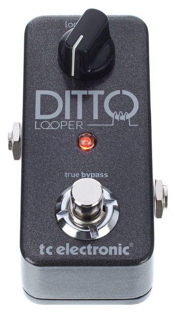 Pedal de Efeitos TC Electronic Ditto Looper para Guitarra