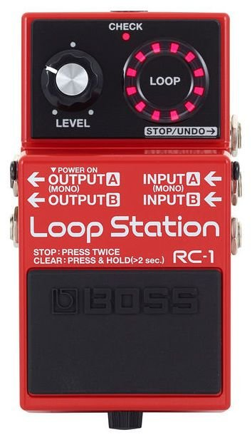 Pedal de Repetição Boss Loop Station RC1
