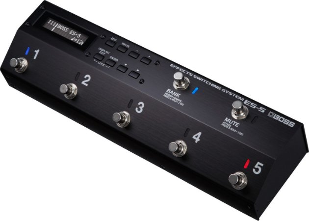 Pedaleira Boss Effects Switching System Effects ES5 para Guitarra