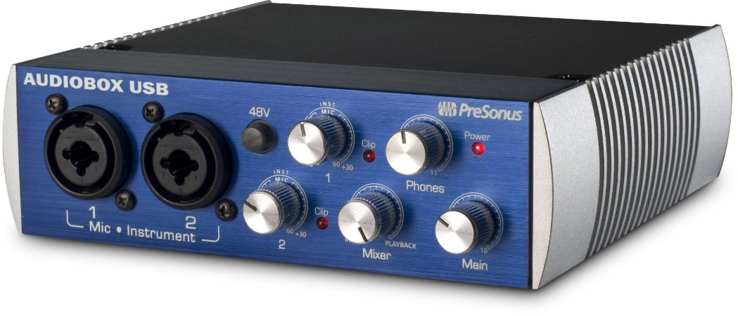 Interface de Áudio PreSonus AudioBox USB