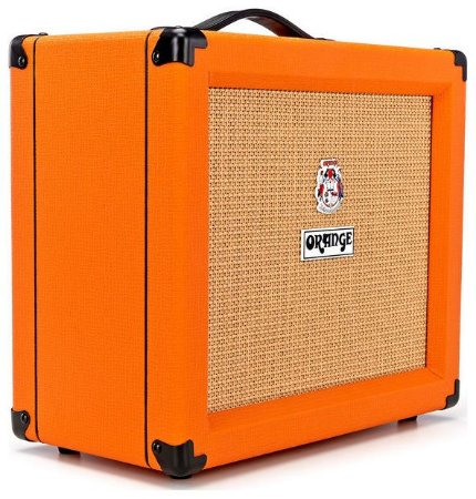 Caixa Amplificada Orange Crush CR35RT 35W 1x10 para Guitarra