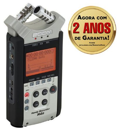 Gravador Digital Portátil H4n SP Handy Recorder