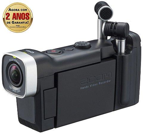 Gravador Digital Potátil Zoom Q4n Handy Video Recorder
