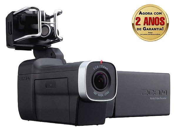 Gravador Digital Potátil Zoom Q8 Handy Video Recorder