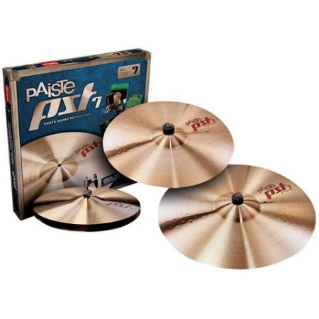 Kit de Pratos Paiste PST7 Heavy Set para Bateria