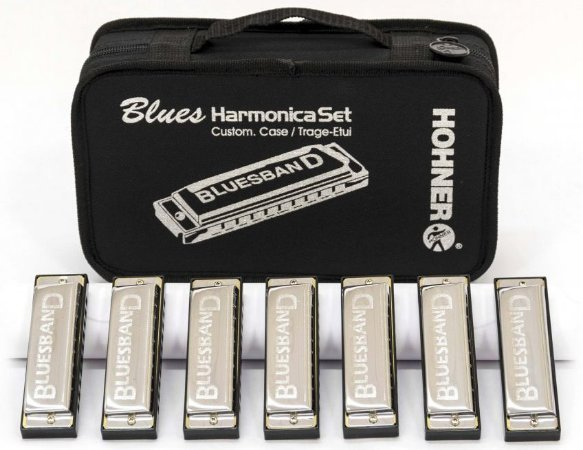 Kit de Gaitas Hohner Blues Harmonica