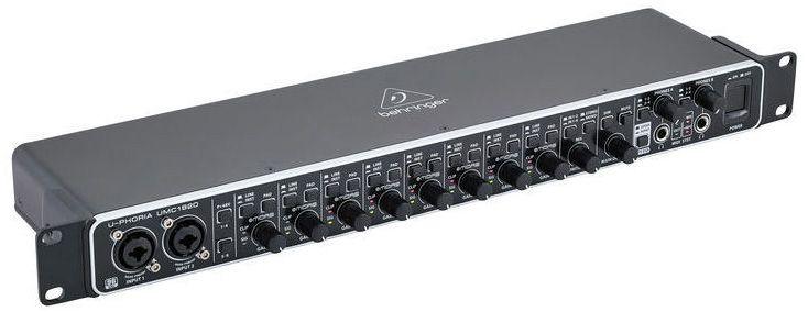 Interface de Áudio Behringer U-Phoria UMC1820 USB