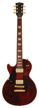 Guitarra Les Paul Gibson Studio Gold Lefty Wine Red