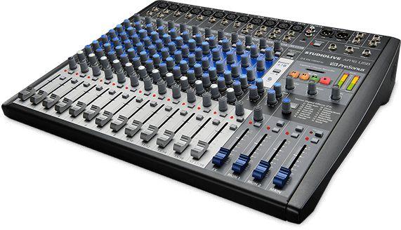 Mesa de Som Híbrida PreSonus StudioLive AR16 USB 16 Canais