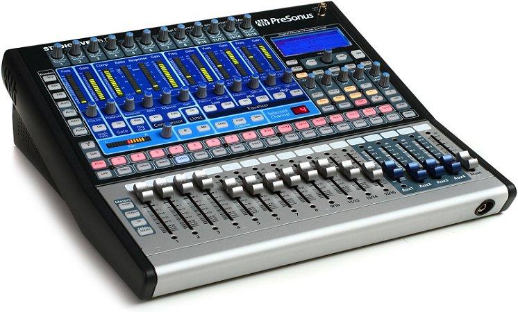 Mesa de Som Digital PreSonus StudioLive 16.0.2 16 Canais