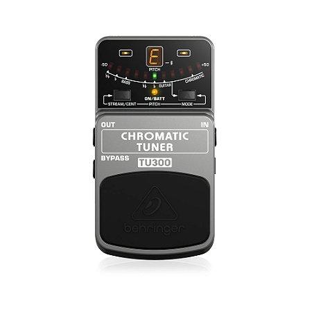 Pedal Afinador Behringer TU300 Chromatic Tuner