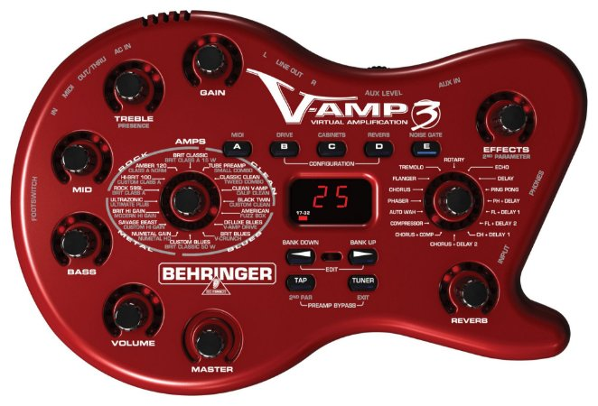 Pedaleira Behringer V-AMP 3 Virtual Amplification