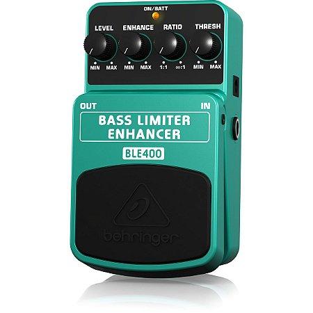 Pedal de Efeitos Behringer BLE400 Bass Limiter Enhancer para Contrabaixo