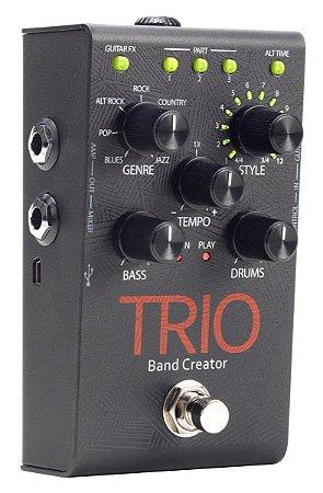 Pedal de Efeitos Digitech Trio Band Creator para Guitarra