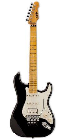 Guitarra ESP LTD ST213 FMR Black com Floyd Rose