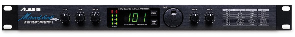 Processador Alesis MicroVerb 4