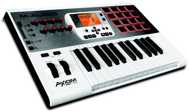 Teclado Controlador M-Audio Axiom Air 25 USB Midi 25 Teclas