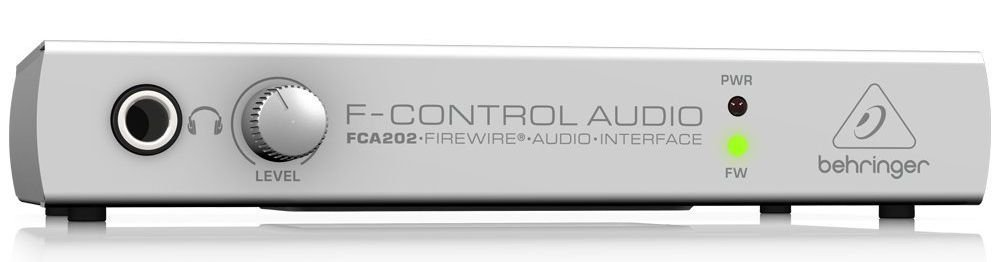 Interface de Áudio Behringer F-Control FCA202 USB