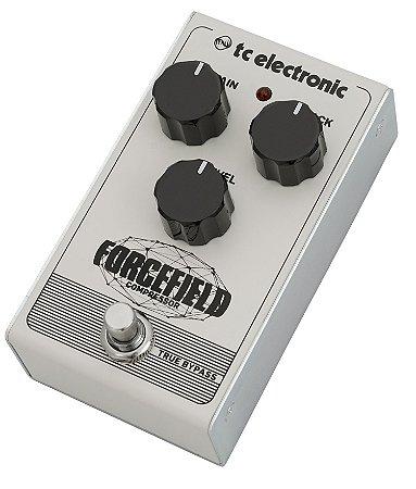 Pedal de Efeitos TC Electronic Forcefield Compressor para Guitarra