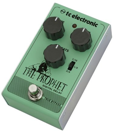 Pedal de Efeitos TC Electronic The Prophet Delay para Guitarra