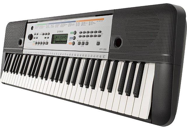 Teclado Arranjador Yamaha YPT255 61 Teclas