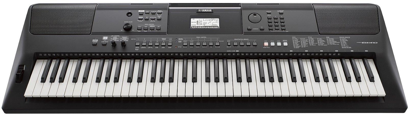 Teclado Arranjador Yamaha PSR EW410 USB 76 Teclas