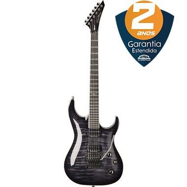 Guitarra Washburn Parallaxe PXS20 Floyd Rose Flame Trans Black com Bag