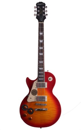 Guitarra Epiphone Les Paul Standard Plus Top Pro Lefty Heritage Cherry Sunburst