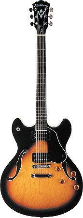 Guitarra Semi-Acústica Washburn HB30 com Bag