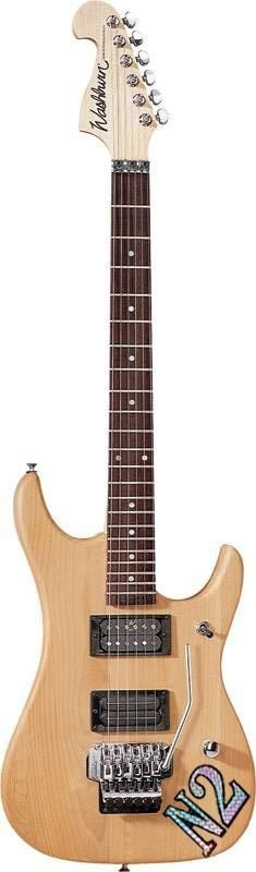 Guitarra Washburn N2 Vintage Nuno Bettencourt Signature Natural com Capa