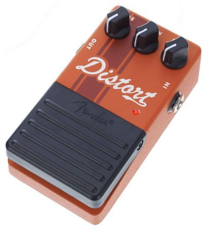Pedal de Efeito Fender Distortion Competition Series
