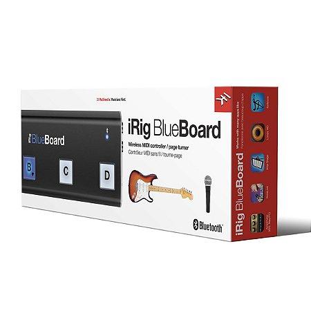 Pedal Controlador IK Multimedia iRig BlueBoard Bluetooth