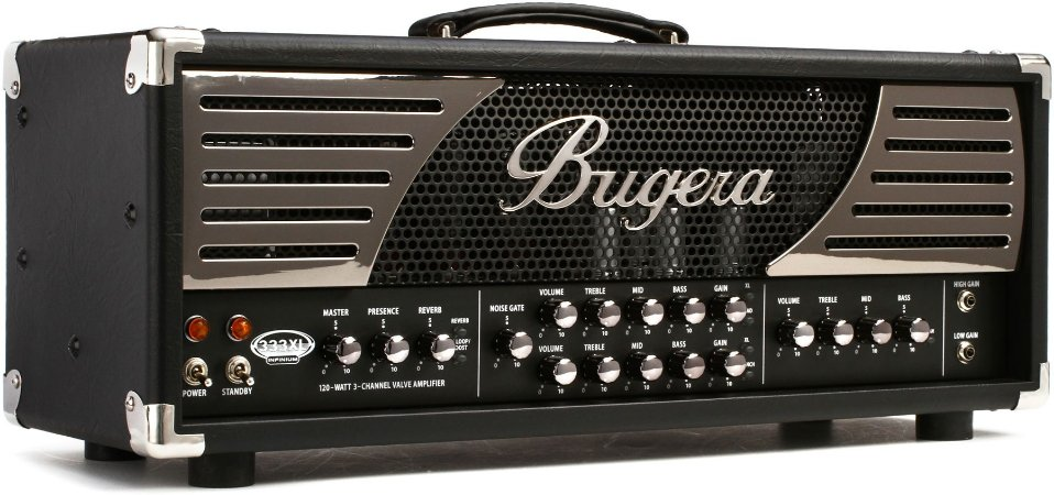 Amplificador Cabeçote Valvulado Bugera 333XL Infinium 120w para Guitarra