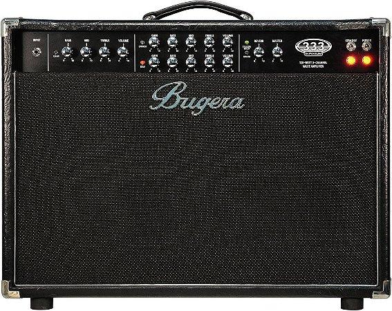 "Caixa Amplificada Bugera 333-212 Infinium 2x12"" 120w para Guitarra"