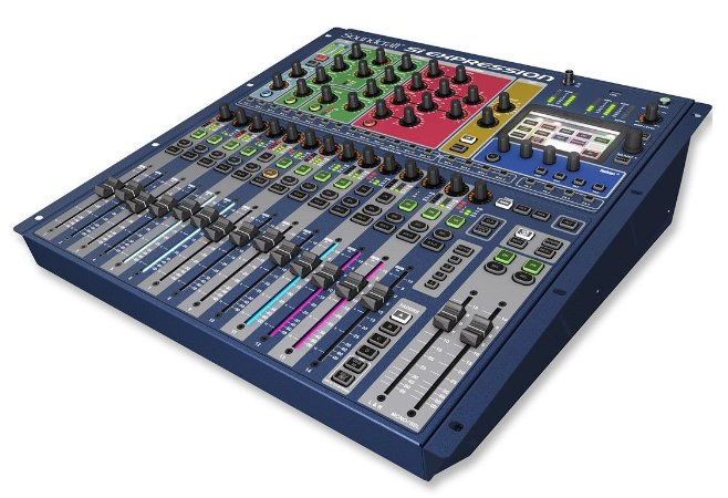 Mesa de Som Digital Soundcraft SI Expression 1  16 Canais