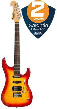 Guitarra Washburn S3HXRS Sonamaster Series HSS Red Flame Sunburst