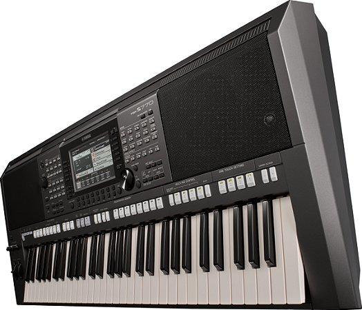 Teclado Arranjador Digital Yamaha PSR S770 61 Teclas
